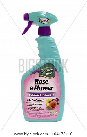 Bottle Of Shultz Rose And Flower Insect Killer