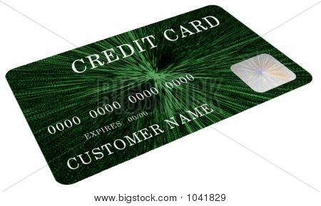 Mock Green Credit Card 2