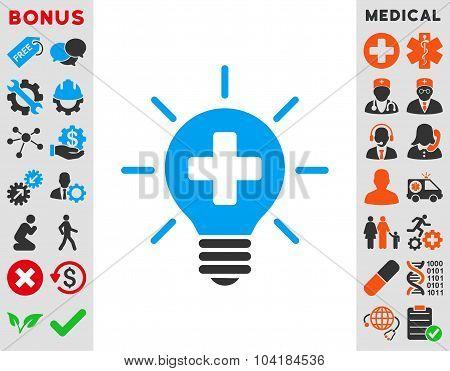 Medical Lamp Icon
