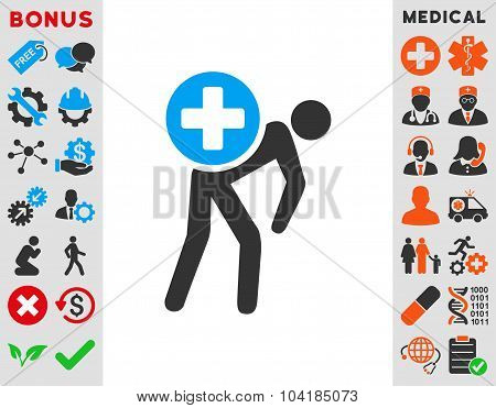 Medication Courier Icon