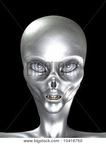 Silver Grey Alien