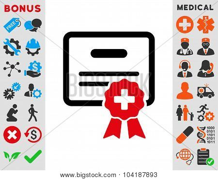 Medical Certification Icon