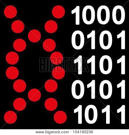 Dna Code Icon