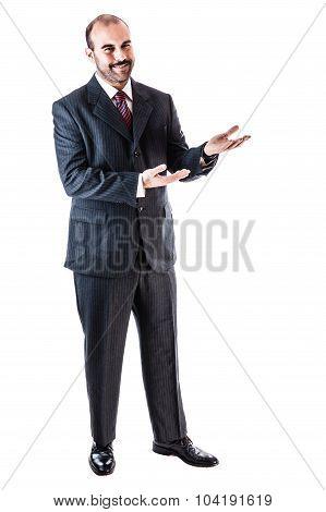 Crook Businessman