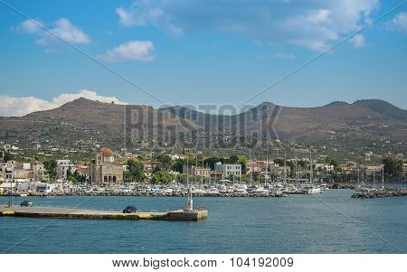 Greek island of Aegina
