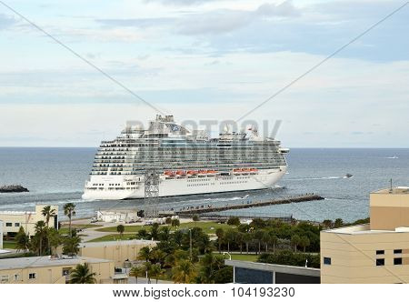 Regal Princess Departs From Miami