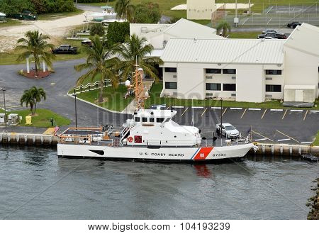 Us Coast Guard Returns From Mission