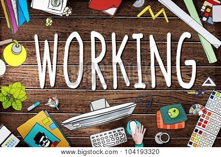 Working Career Employ Occupation Profession Concept
