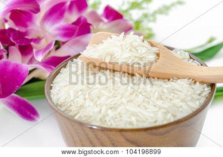 Raw Rice Jasmine.