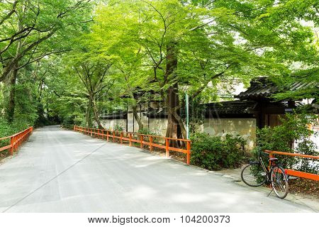Temple in the Kyoto, Japan