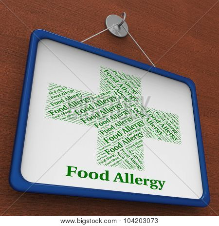Food Allergy Means Ill Health And Afflictions