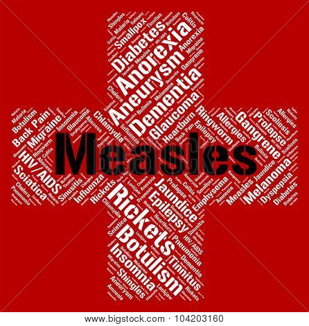 Measles Word Means Koplik's Spots And Ailment