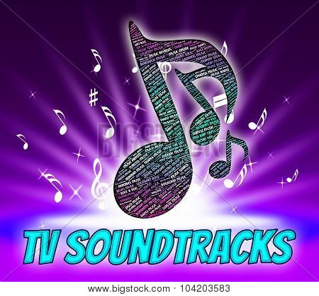 Tv Soundtracks Indicates Video Game And Harmony