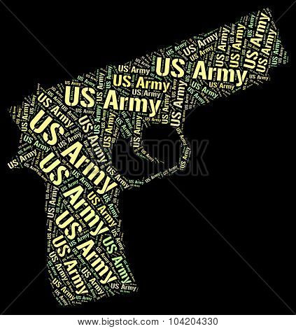 Us Army Represents The States And Department