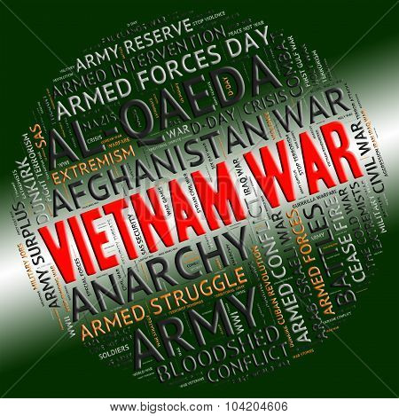 Vietnam War Means North Vietnamese Army And America