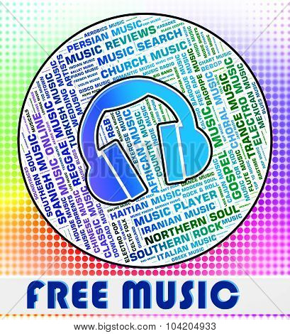 Free Music Shows With Our Compliments And Freebie