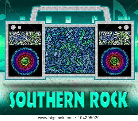 Southern Rock Represents Country Music And Harmonies