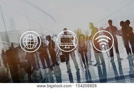 Global Worldwide Digital Modern Connection Concept