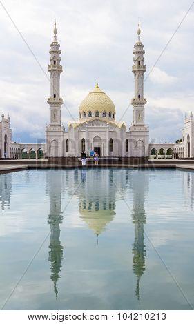 White Mosquei In The Sity Bolgar, Tatarstan, Russia.