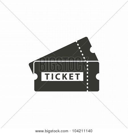 Ticket  Icon.