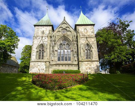 Cathedral in Stavanger.  Norway.