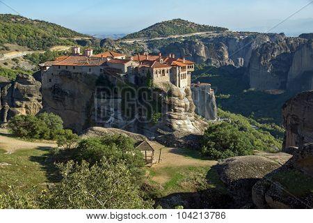 Meteora, Holy Monastery of Varlaam, Greece