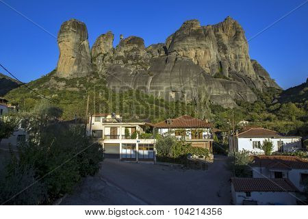 Kalabaka Town near Meteora, Trikala, Thessaly