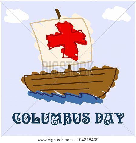Happy Columbus Day classic draw