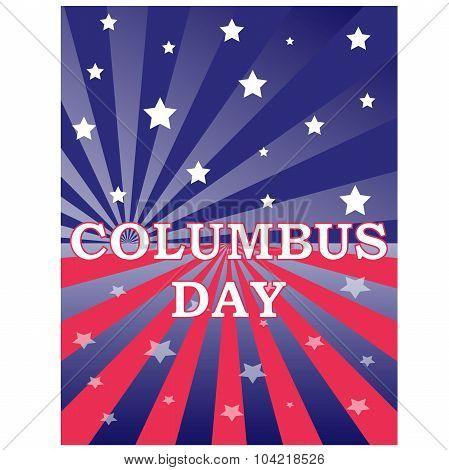 Happy Columbus Day celebrating