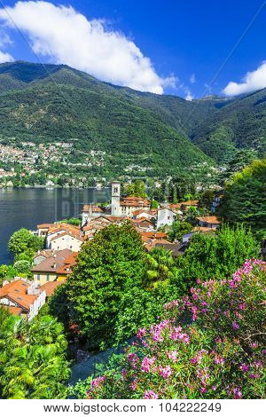 pictorial villages of beautiful Lago di Como - Blevio.