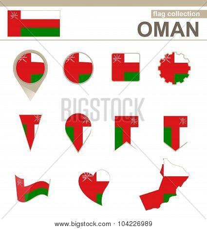 Oman Flag Collection