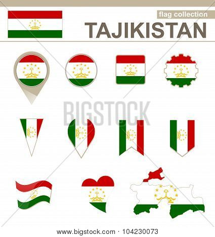 Tajikistan Flag Collection