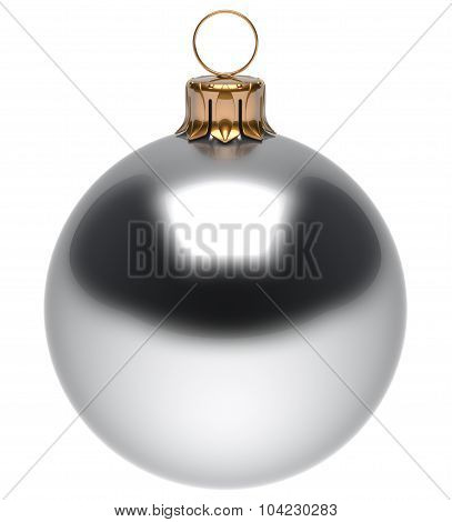 Christmas Ball White New Year's Eve Bauble Winter Decoration