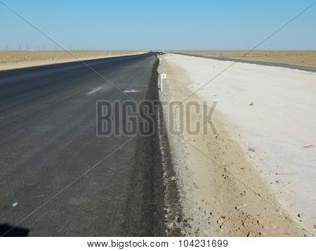 Laying A New Road.