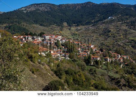 Town of Metsovo, Epirus, Greece