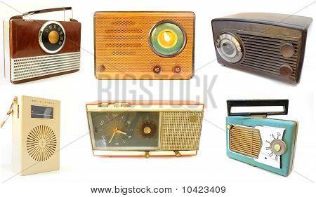 Array Of Vintage Radios