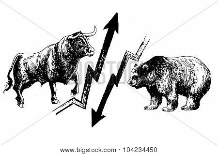 Bearish And Bullish Market