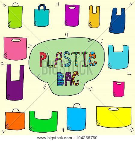 Plastic Bags Color