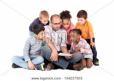Teacher With Kids