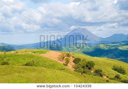 Costa Rica-Landschaft