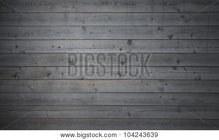 Grey Wooden Planks Background