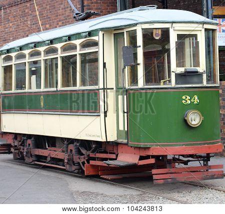Old Tram Bus