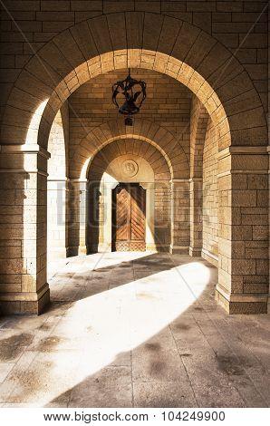 Covered Portico