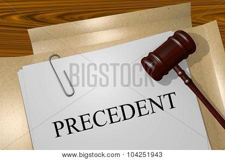 Precedent Concept
