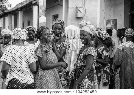 African Women Gathering