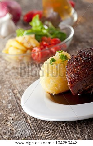 roast pork dish