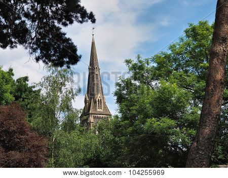 St Marys Church spire Hanwell West London UK