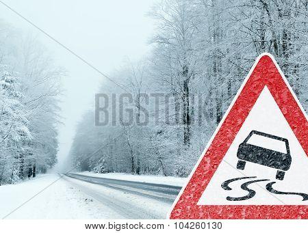 Winter Driving - Caution