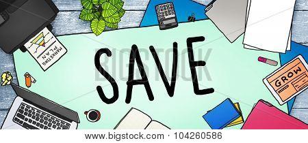 Saving Save Money Finance Budget Banking Concept