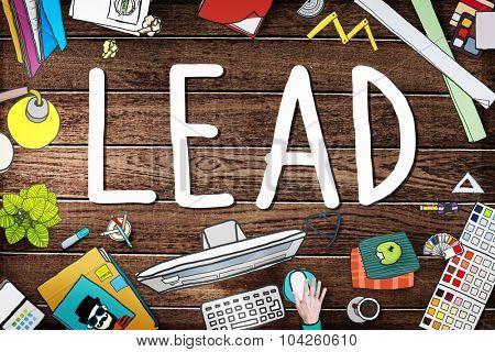 Lead Leadership Chief Team Partnership Concept